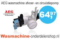 AEG wasmachine afvoer- en circulatiepomp