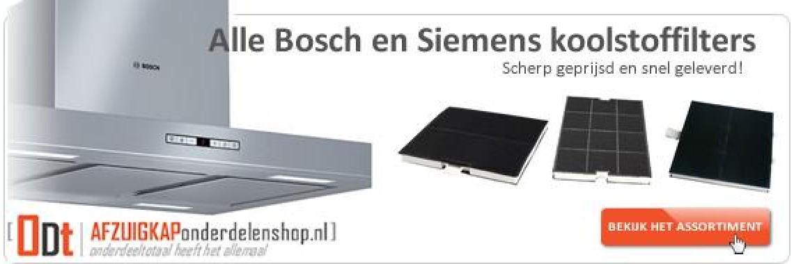 Bosch en Siemens koolstoffilters | Scherp geprijsd!