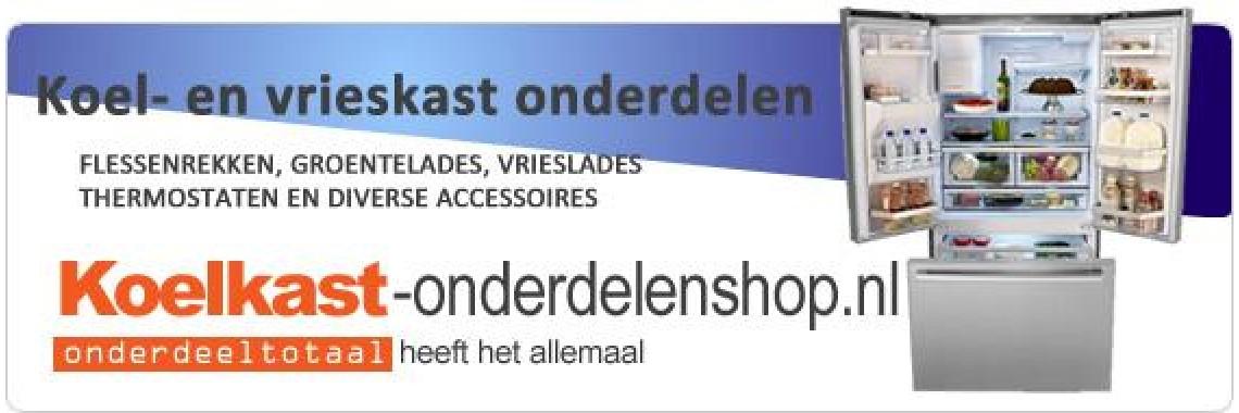 Koelkast-onderdelenshop.nl | Alles voor koel- en vrieskasten